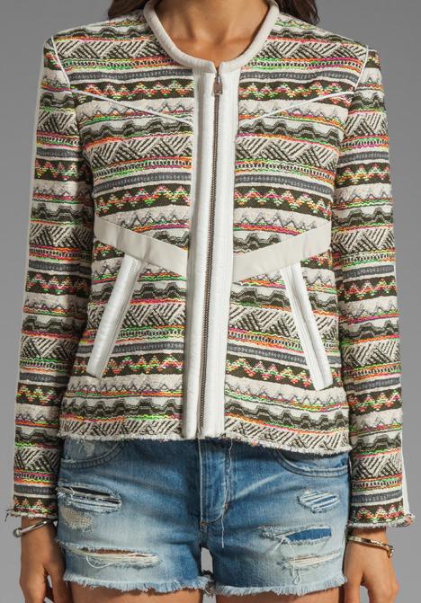 IRO Elomi Neon Jacket