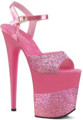 Pleaser USA Women's Flamingo-809-2G Ankle-Strap Sandal