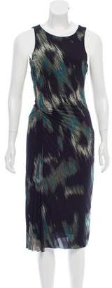 Halston Printed Sheath Dress