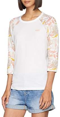 25740418 at Amazon.co.uk · Vans Vans_Apparel Women's's Floral T-Shirt, Multicolour  White California ...