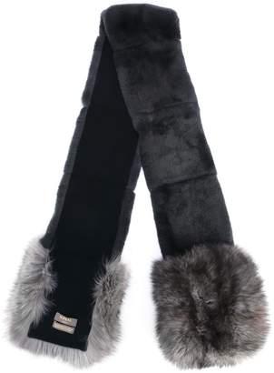 eb8add0bc N.Peal Rex and fox fur scarf