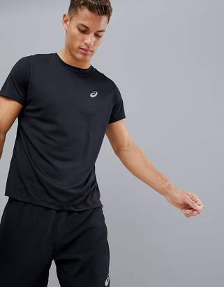 Asics Running T-Shirt In Black