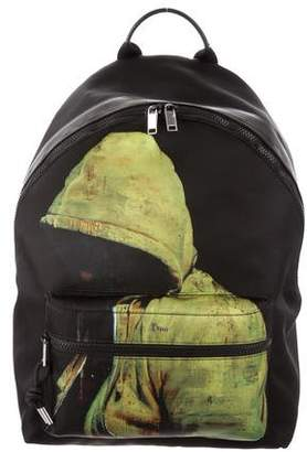 Christian Dior 2018 Printed Backpack w/ Tags