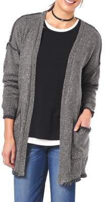 Democracy Textured Open-Front Cardigan