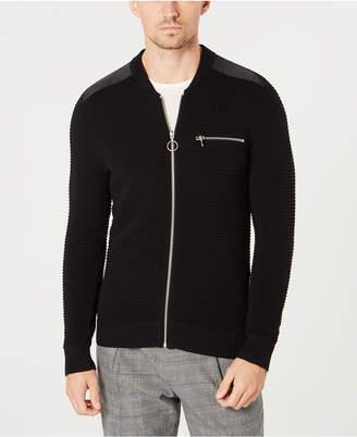 INC International Concepts I.n.c. Men Daily Mix Full Zip Sweater
