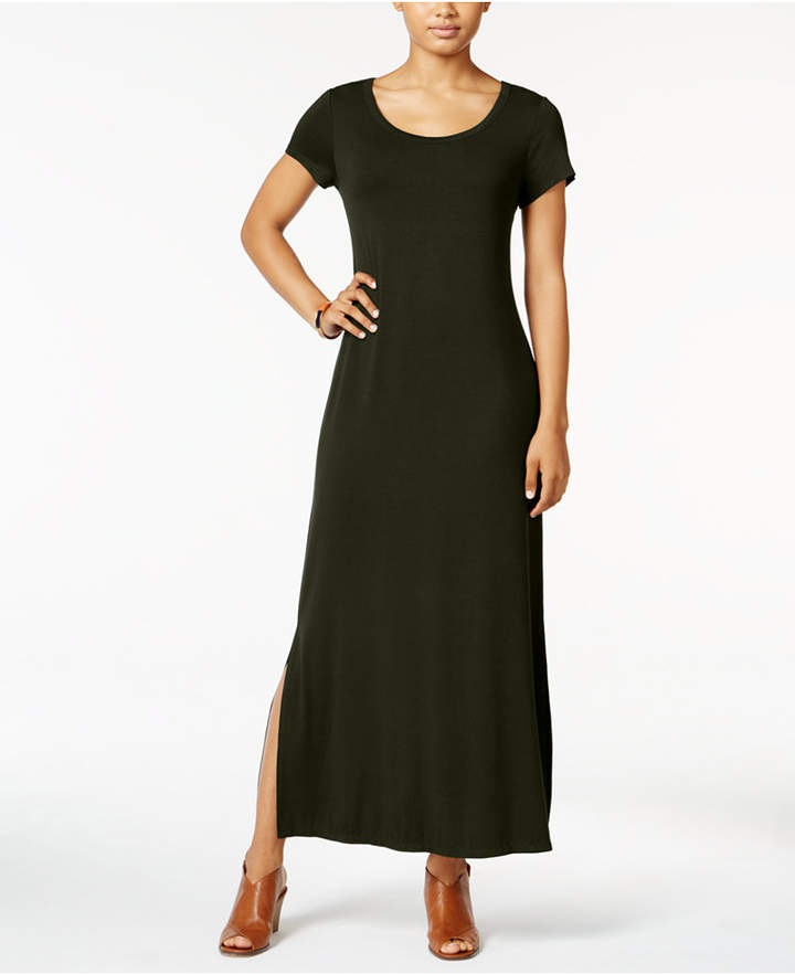 Style & Co Short-Sleeve Maxi Dress, Only at Macy's 2