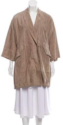 Brunello Cucinelli Suede Casual Jacket