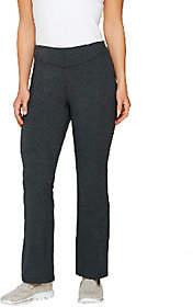 Denim & Co. Active Regular Duo-Stretch SlightlyBoot Cut Pants