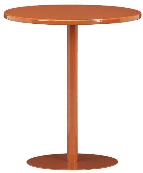 Pedestal Cayenne Side Table