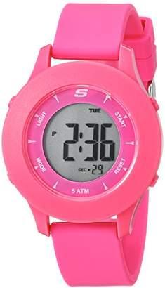 Skechers Women's Quartz Plastic and Rubber Casual Watch