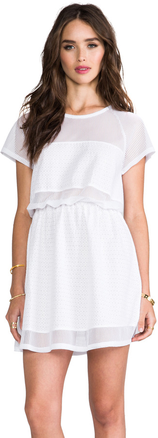 Camilla And Marc Morning Dream Anglese Mesh Panel Dress