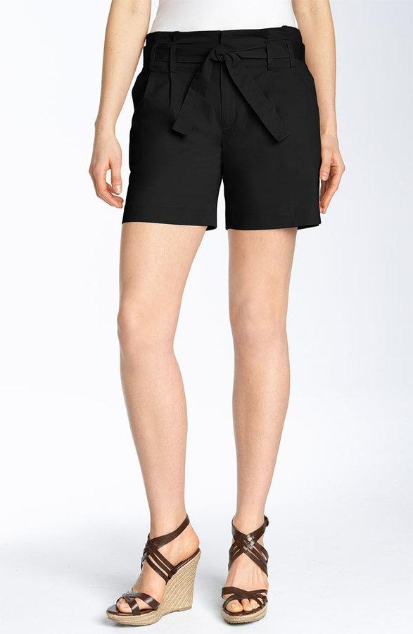 MICHAEL Michael Kors Paperbag Waist Shorts