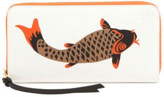 Zip-Around Pesce Wallet