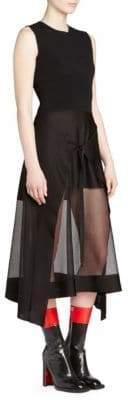 Alexander McQueen Handkerchief Hem Dress