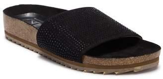 L4L Maxim Embellished Slide Sandal