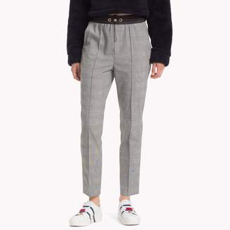 Tommy Hilfiger Check Drawstring Trousers