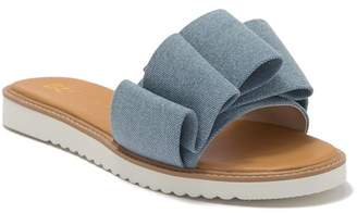 BC Footwear Fun for All Ages Vegan Pleated Sandal