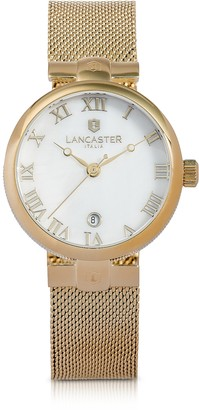 Lancaster Chimaera Yellow Gold Stainless Steel Watch