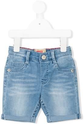 Levi's Kids turn-up hem denim shorts