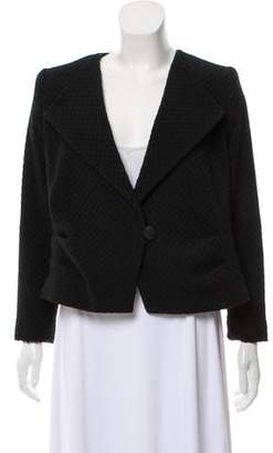 Giorgio Armani Textured Double-Breasted Jacket