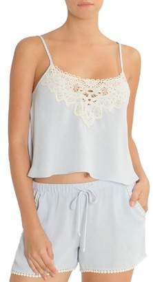 Jonquil In Bloom by Cropped Cami Set