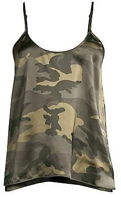 ATM Anthony Thomas Melillo Women's Silk Camo Cami