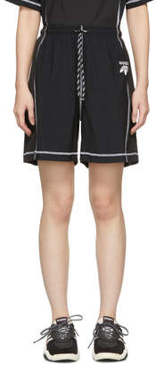 adidas by Alexander Wang Black Logo Shorts
