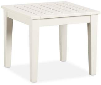 Pottery Barn Hampstead Painted Side Table, White