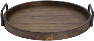 Uttermost Reine Round Wooden Tray