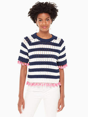Kate Spade Bauble short sleeve sweater