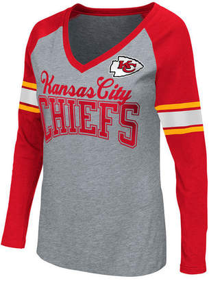 G-iii Sports Women's Kansas City Chiefs In the Zone Long Sleeve T-Shirt