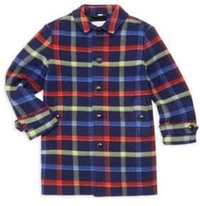 Burberry Little Boy's& Boy's Bradley Bright Wool Coat