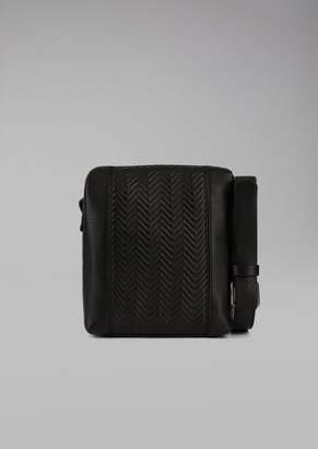 Giorgio Armani Deerskin Crossbody Bag