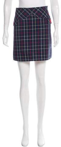 Marc by Marc Jacobs Plaid Mini Skirt
