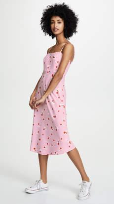 re:named apparel re:named Brenda Floral Midi Dress