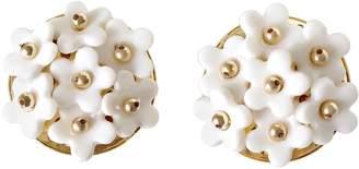 POPORCELAIN - Mini Daisy Cluster Clip Earrings