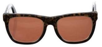 RetroSuperFuture Tortoiseshell Acetate Sunglasses