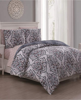 Geneva Home Fashion Lalit 5-Pc Twin Bed in a Bag Bedding