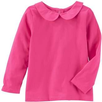 Osh Kosh Oshkosh Bgosh Toddler Girl Peter Pan Collar Top