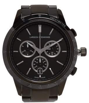 Larsson & Jennings - Rally Stainless Steel Watch - Mens - Black