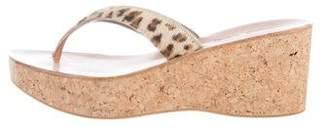 K Jacques St Tropez Diorite Wedge Sandals