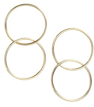 Women's Bony Levy Geo Linked Circle Earrings (Nordstrom Exclusive) $495 thestylecure.com