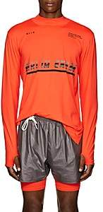 Siki Im Men's Tech-Jersey Long-Sleeve T-Shirt - Orange
