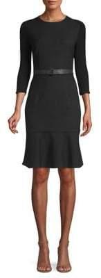 Elie Tahari Storm Pinstripe Sheath Dress