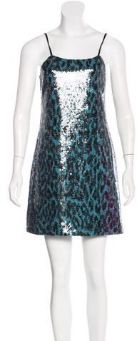 Marc JacobsMarc Jacobs Sequin-Embellished Sleeveless Dress w/ Tags