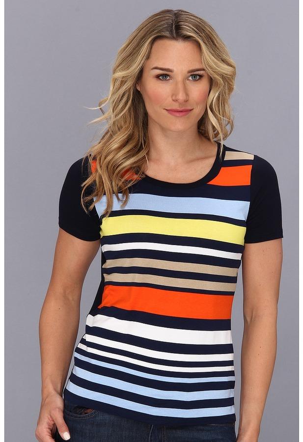 Jones New York S/S Printed T-Shirt Women's T Shirt