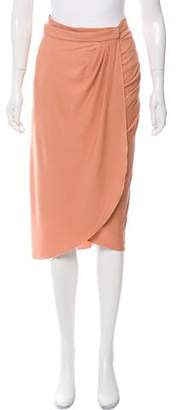 Bottega Veneta Knit Wrap Skirt