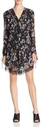 N Nicholas Tie Sleeve Mini Dress $450 thestylecure.com
