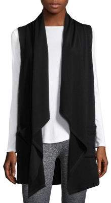 Beyond Yoga Satisfaction Drape-Front Vest
