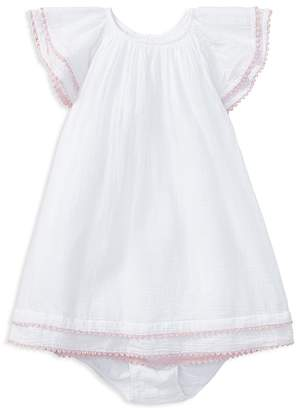 Ralph Lauren Girls' Cotton Gauze Boho Dress & Bloomers Set - Baby